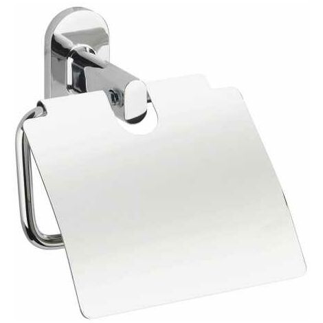 Power-Loc® toilet roll holder with cover Puerto Rico WENKO