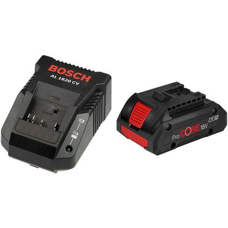 Power Set BOSCH (1 x 18V 4,0 Ah ProCORE AL1820CV)