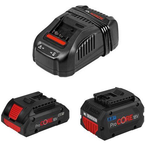 Power Set BOSCH (1x18V 4,0Ah ProCORE 1x18V 8,0Ah ProCORE GAL1880CV)