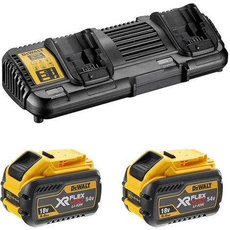 Power Set DeWALT FlexVolt (2 x 54V/18V 9,0 Ah DCB132)
