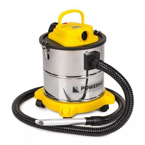 POWER TOOL | Aspirateur à cendres et poussières 2en1 | Puissance maximale 2000W | Vide cendres froides/chaudes | Filtre HEPA | Jaune - Jaune