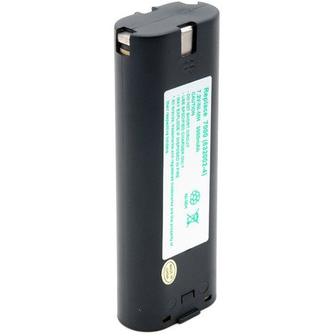 Power tool battery 7.2V 3Ah - 191679-9,632002-4,632003-2,7000,7002,7033,49323536