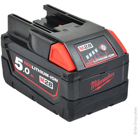 Power tool battery MILWAUKEE M28 B5 28V 5Ah - 4000401651,48-11-2830,48112830,493