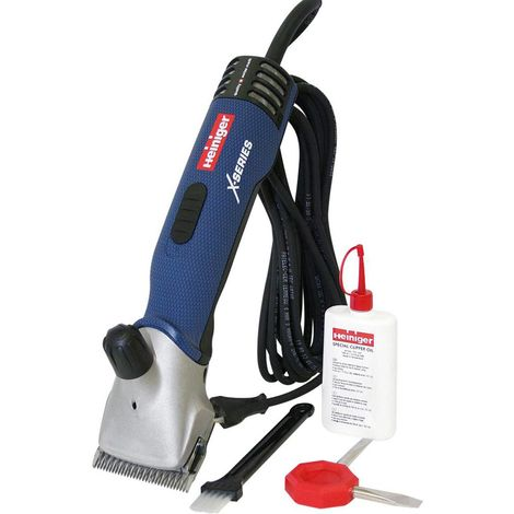 Powerful and silent Xperience current shearer for horses and cattle, with complete kit