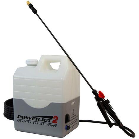 Pulvérisateur électrique PowerJet 2: 10m de haut, Batterie de 5h.
