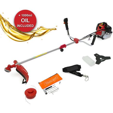 PowerKing Big Horn 2in1 Petrol Garden Multi Tool & 1L Oil