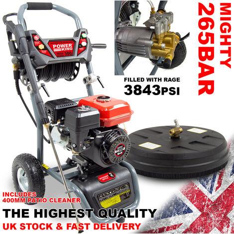PowerKing Mega Blaster 300 Petrol Power Washer & Patio Cleaner