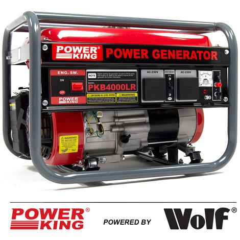 PowerKing Petrol Generator PKB4000LR 2800w 3.5KVA 7HP