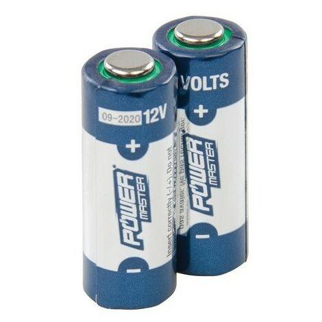 PowerMaster 306107 12V Super Alkaline Battery A23 Pack of 2