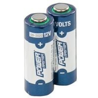 PowerMaster 306107 12V Super Alkaline Battery A23 Pack of 2