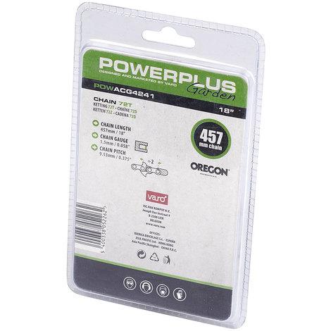 "Powerplus 18"" Oregon Chainsaw Chain"