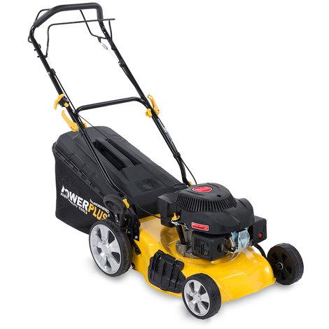 """Powerplus 18"""" Self Propelled Petrol Lawn Mower POWXG60240"""