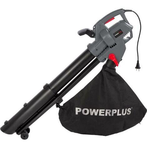 POWERPLUS Aspirateur souffleur broyeur de feuilles 3300W POWEG9013