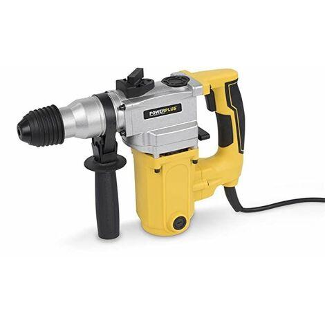 Powerplus POWX1160 1500W 850RPM SDS Plus rotary hammers - Martillo perforador (SDS Plus, 3,2 cm, 850 RPM, 4100 ppm, 1,6 cm, 4 cm)