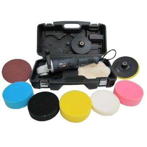 PowerStorm® Car Polisher Sander Buffer with Carry Case Platinum Pack