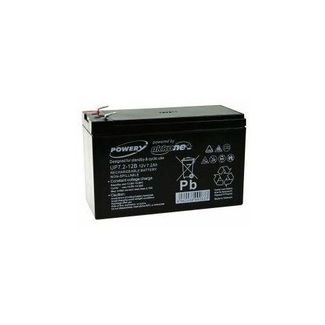 Powery Batería de GEL 12V 7,2Ah_v950