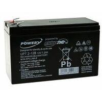 Powery Batería de GEL para SAI APC Back-UPS BK650EI