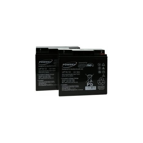 Powery Batería de GEL para SAI APC Smart-UPS 1500