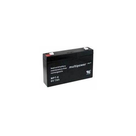 Powery Batería de Plomo-ácido (multipower) MP7-6