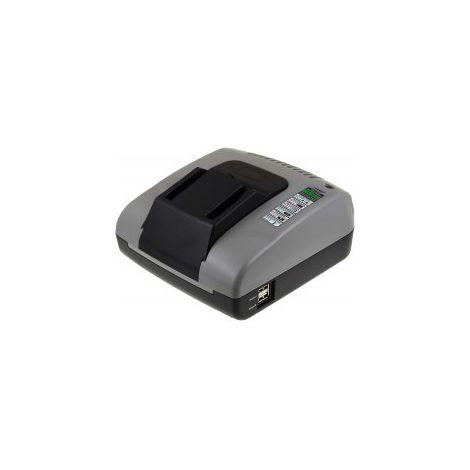 Powery Cargador de Batería con USB para AEG Multi Herramienta BWS 12C