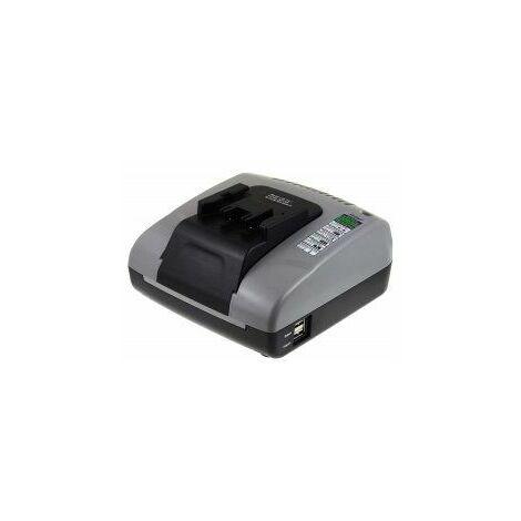Powery Cargador de Batería con USB para Hilti Taladro Percutor TE 2-A