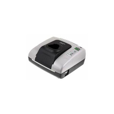 Powery Cargador de batería con USB para Milwaukee Taladro percutor portátil C12 PD