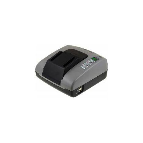 Powery Cargador de Batería con USB para Würth master Taladro BS 18-A solid combi