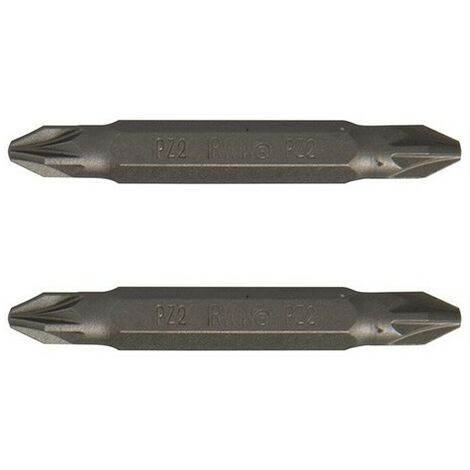 Pozi Double Ended Screwdriver Bits