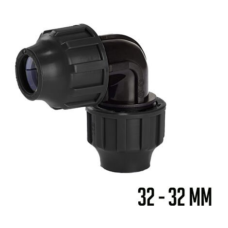 PP CODO 90° - 32/32MM FSK