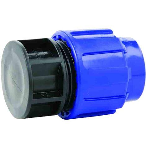 PE Rohr Endkappe 25 mm 3//4 Zoll DN20 Stopfen Kappe Klemmverschraubung Formteile