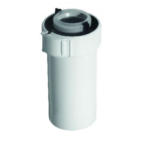 PPTL/PVC duct 60/100 lg250mm - UBBINK : 229301