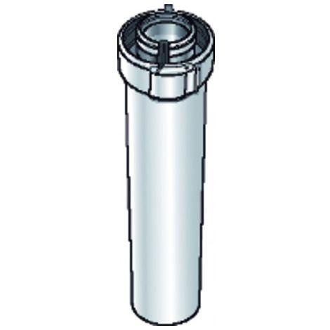 PPTL/PVC duct 80/125 lg250mm - UBBINK : 229530