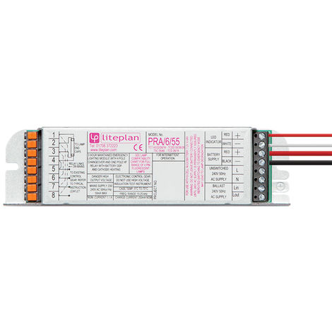 PRA/6/55 6 Cell 32-55w Emergency Module Only (Liteplan)