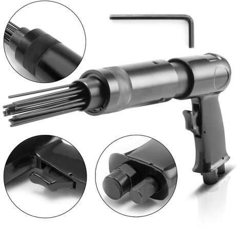 """main image of """"Práctico escarificador de agujas de aire comprimido, con una presión de trabajo de 6,2 bar y un consumo de aire de 113 l/min"""""""