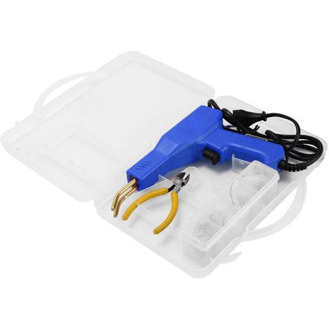 Practico Plasticos Soldadura Herramientas de garaje, grapadoras caliente Maquina