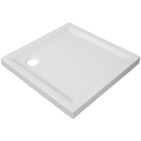 Práctico plato de ducha cuadrado
