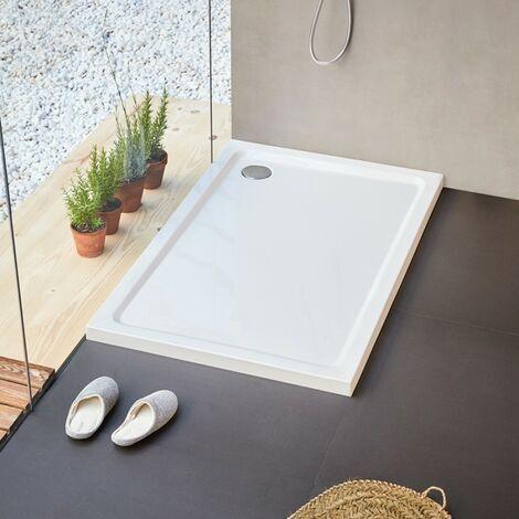 Práctico plato de ducha rectangular