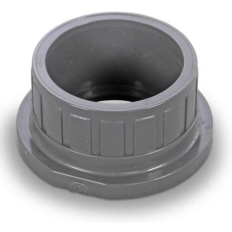 "main image of ""Praher PVC Einlegeteil 50mm Klebemuffe grau"""