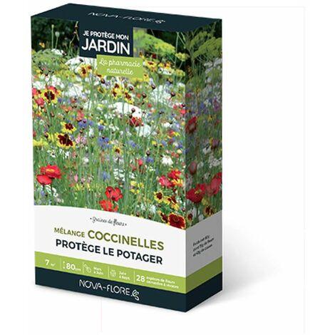 """main image of """"Prairies fleuries : j'attire les coccinelles 7 m2"""""""