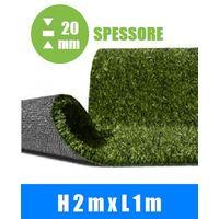 Prato Sintetico Artificiale Spessore 20 mm Italfrom® - Misure: h 2,00