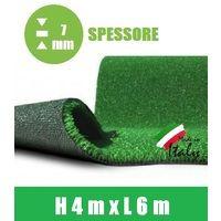Prato Sintetico Artificiale Spessore 7 mm Italfrom? - Misure: h 4,00