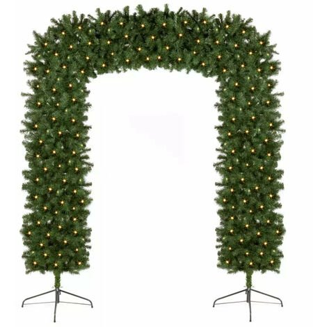"main image of ""Pre Lit Christmas Tree Arch"""