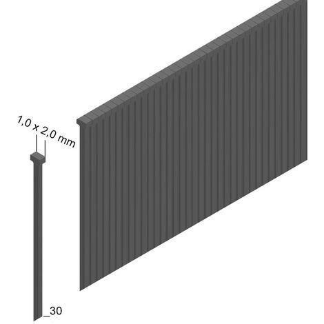 Prebena J 30 CNKHA Stauchkopfnägel Brads 30mm 5000 Stück - aus verzinktem Stahl, geharzt