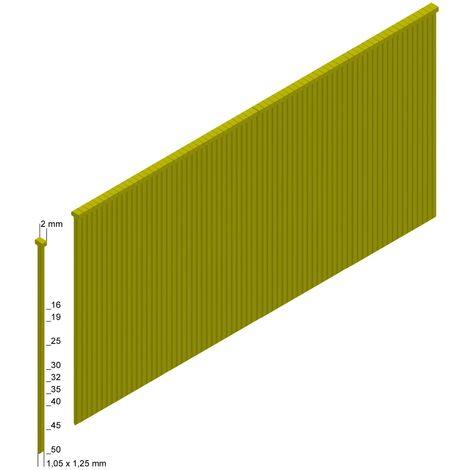 PREBENA Stauchkopfnägel Brads J13CNKHA 13 mm 10000 Stück