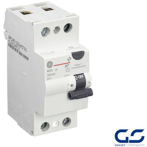 Precio Interruptor diferencial 2 Polos Curva AC General Electric