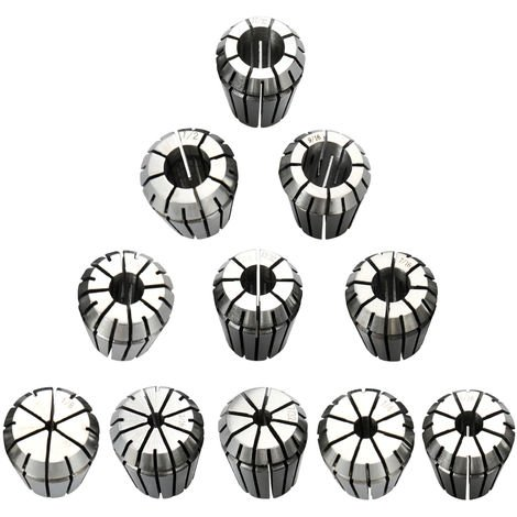 Precision Ensemble De Collet A Ressort, 11 Pcs