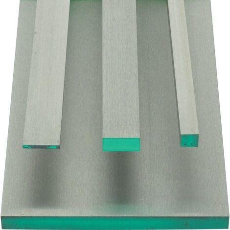 Precision Ground Flat Stock - 8mm x 500mm - Gauge Plate - 01 Tool Steel
