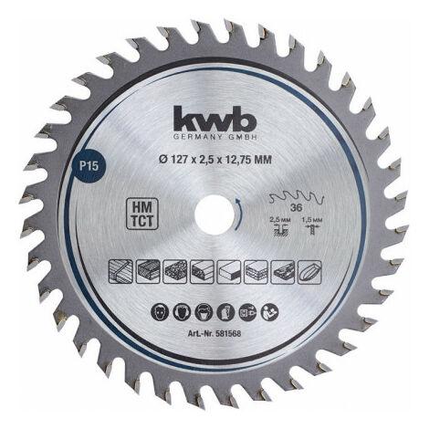 Précision lame de scie circulaire Ø 160x16 Kwb