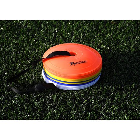Precision Pro Near Flat Space Markers Football Rugby Training Drills Gym