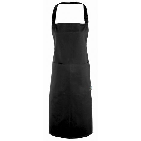 Premier 100% Certified Fairtrade Apron / Workwear (One Size) (Black)
